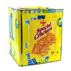 Mahkota Cream Cracker Tin 3kg