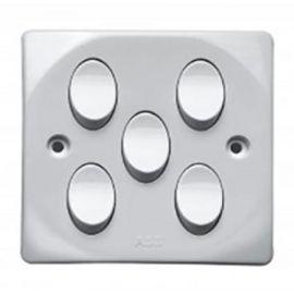 ABB Switch 10AX- 5 Gang